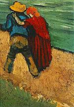 Two Lovers  by Vincent Vangogh